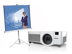 alquiler de pantallas y proyectores